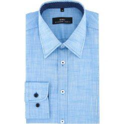 Koszula LUIGI 16-01-12-K. Białe koszule męskie na spinki marki bonprix, z klasycznym kołnierzykiem. Za 199,00 zł.