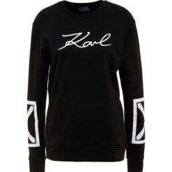 KARL LAGERFELD TERRY Bluza black/white. Czarne bluzy rozpinane damskie KARL LAGERFELD, m, z bawełny. Za 689,00 zł.