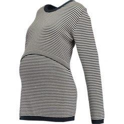 Swetry klasyczne damskie: Boob FRANCIS Sweter midnight blue/offwhite