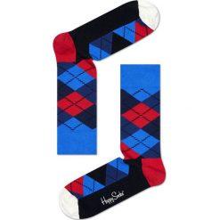 Happy Socks - Skarpety Argyle. Białe skarpetki męskie marki WED'ZE, z elastanu. W wyprzedaży za 27,90 zł.