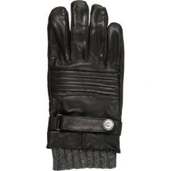 Rękawiczki męskie: Roeckl Rękawiczki pięciopalcowe black/grey