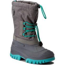 Buty zimowe chłopięce: Śniegowce CMP – Kids Ahto Wp 3Q49574K Asphalt Mel. U874