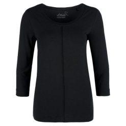 S.Oliver T-Shirt Damski 38 Czarny. Czarne t-shirty damskie marki S.Oliver, s. Za 99,90 zł.