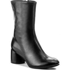 Botki HÖGL - 4-106123 Black 0100. Czarne botki damskie skórzane marki HÖGL. W wyprzedaży za 449,00 zł.