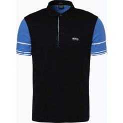 Koszulki polo: BOSS Athleisure – Męska koszulka polo – Paule 6, czarny