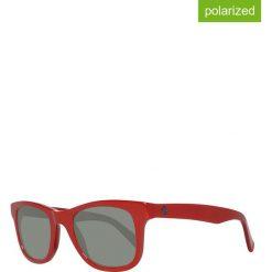 Okulary przeciwsłoneczne męskie: Okulary męskie w kolorze czerwono-szarym
