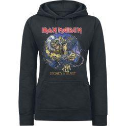 Iron Maiden Eddie Chained - Legacy Bluza z kapturem damska czarny. Czarne bluzy rozpinane damskie Iron Maiden, s, z kapturem. Za 121,90 zł.