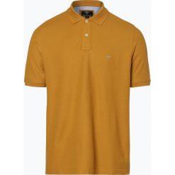 Fynch Hatton - Męska koszulka polo, żółty. Żółte koszulki polo Fynch-Hatton, m, z haftami, z bawełny. Za 129,95 zł.