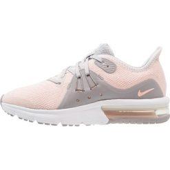 Buty do biegania damskie: Nike Performance AIR MAX SEQUENT 3  Obuwie do biegania treningowe vast grey/crimson tint/atmosphere