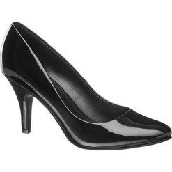 Szpilki damskie Graceland czarne. Czarne szpilki Graceland, z lakierowanej skóry. Za 79,90 zł.