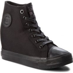 Sneakersy damskie: Sneakersy BIG STAR – AA274A091 Black