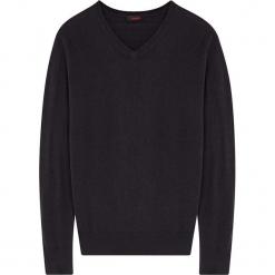 Sweter w kolorze granatowym. Niebieskie swetry klasyczne męskie marki Rodier, m, z dzianiny. W wyprzedaży za 108,95 zł.