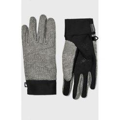 Columbia - Rękawiczki. Szare rękawiczki męskie Columbia, z dzianiny. Za 129,90 zł.