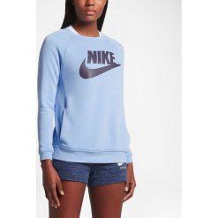 Bluzy sportowe damskie: Nike Bluza damska NSW Modern CRW GX1 niebieska r. L (842435 450-S)