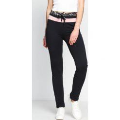 Spodnie dresowe damskie: Grafitowe Spodnie Dresowe Brownie