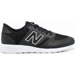New Balance - Buty. Czarne buty sportowe męskie New Balance, z gumy. W wyprzedaży za 199,90 zł.