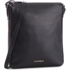 Torebka COCCINELLE - DQ0 Lulin Soft E1 DQ0 15 01 01 Noir 001. Czarne listonoszki damskie Coccinelle, ze skóry. Za 949,90 zł.
