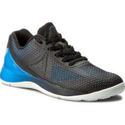 Buty Reebok - Crossfit Nano 7.0 B BD5118 Blue/Black/White/Lead. Czarne buty do fitnessu damskie marki Reebok, z materiału, reebok crossfit. W wyprzedaży za 349,00 zł.