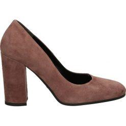 Czółenka - 900 CAM ANTIC. Brązowe buty ślubne damskie Venezia, ze skóry. Za 189,00 zł.