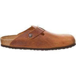 Birkenstock BOSTON Klapki brown. Brązowe klapki męskie marki OLAIAN, z kauczuku. Za 469,00 zł.