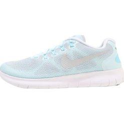 Buty do biegania damskie: Nike Performance FREE RUN 2 Obuwie do biegania neutralne glacier blue/silver/pure platinum/polarized bluewhite