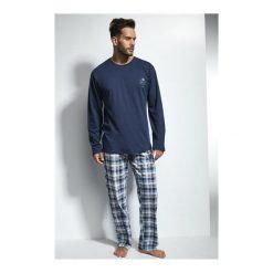 Piżama Great 124/109. Niebieskie piżamy męskie marki Cornette. Za 118,90 zł.