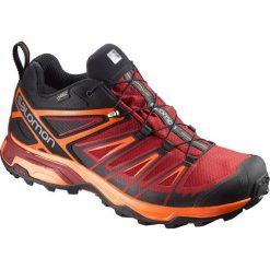 Buty trekkingowe męskie: Salomon Buty męskie X Ultra 3 GTX Black/Red Dalhia r. 44 2/3 (398670)