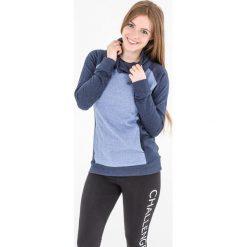 Bluzy sportowe damskie: 4f Bluza damska granatowy melanż r. XS (H4L17-BLD003)