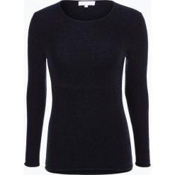 Marie Lund - Sweter damski z czystego kaszmiru, niebieski. Niebieskie swetry klasyczne damskie Marie Lund, xs, z dzianiny. Za 579,95 zł.