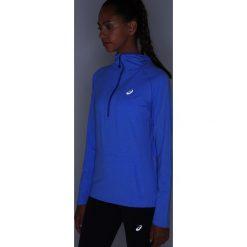 ASICS LONG SLEEVE HOODIE Koszulka sportowa blue purple heather. Niebieskie topy sportowe damskie Asics, s, z elastanu, z długim rękawem. W wyprzedaży za 199,20 zł.