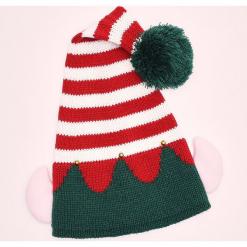 Świąteczna czapka - Czerwony. Czerwone czapki damskie marki Cropp. Za 34,99 zł.
