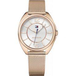 Tommy Hilfiger - Zegarek 1781697. Szare zegarki damskie marki TOMMY HILFIGER, pozłacane. W wyprzedaży za 629,90 zł.