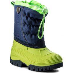 Buty zimowe chłopięce: Śniegowce CMP – Kids Hanki 3Q48064K Menta F663