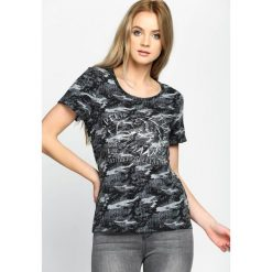 T-shirty damskie: Niebieska-Moro T-shirt Water Line