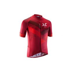 Koszulka na rower MTB XC męska. Białe odzież rowerowa męska marki KIPSTA, z elastanu. Za 169,99 zł.
