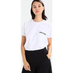 T-shirty damskie: Mads Nørgaard Tshirt z nadrukiem white