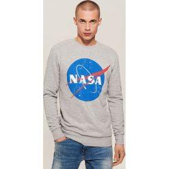 Bluza NASA - Jasny szar. Szare bluzy męskie House, l. Za 99,99 zł.