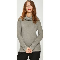 Medicine - Sweter Basic. Szare golfy damskie MEDICINE, l, z bawełny, z krótkim rękawem. Za 89,90 zł.