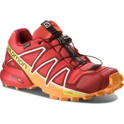 Buty SALOMON - Speedcross 4 Gtx GORE-TEX 400932 27 G0 Fiery Red/Red Dalhia/Bright Marigold. Czerwone buty do biegania męskie marki Salomon, z gore-texu, salomon speedcross, gore-tex. W wyprzedaży za 439,00 zł.