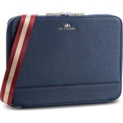 Torba na laptopa WITTCHEN - 86-4E-214-7 Granatowy. Niebieskie plecaki męskie Wittchen, ze skóry. W wyprzedaży za 379,00 zł.