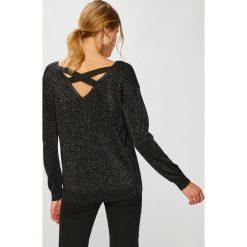Answear - Sweter Animal Me. Szare swetry klasyczne damskie marki ANSWEAR, l, z dzianiny, z okrągłym kołnierzem. W wyprzedaży za 119,90 zł.