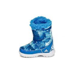 Śniegowce Dziecko adidas  DISNEY REINE DES NEIGES MID I. Niebieskie buty zimowe chłopięce marki Timberland, z gumy. Za 175,20 zł.