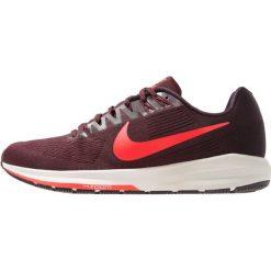 Nike Performance AIR ZOOM STRUCTURE 21 Obuwie do biegania Stabilność burgundy ash/brigh crimson/burgundy crush/light bone. Czerwone buty do biegania męskie Nike Performance, z materiału. Za 779,00 zł.