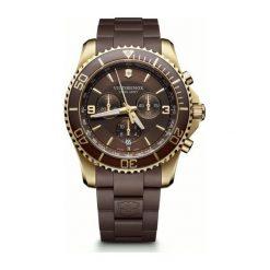 ZEGAREK VICTORINOX SWISS ARMY MAVERICK CHRONOGRAPH 241692. Czarne zegarki męskie marki KALENJI, ze stali. Za 2990,00 zł.