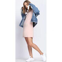 Różowa Sukienka Can Hear It. Czerwone sukienki mini marki Born2be, l. Za 54,99 zł.