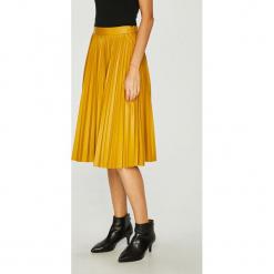 Miss Sixty - Spódnica. Brązowe spódniczki plisowane damskie Miss Sixty, m, z materiału, z podwyższonym stanem, midi. W wyprzedaży za 279,90 zł.