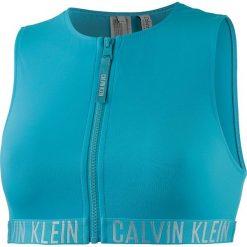 Biustonosz bikini w kolorze turkusowym. Niebieskie biustonosze marki Najlepsze stroje na plażę, z materiału. W wyprzedaży za 112,95 zł.