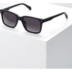Fossil Okulary przeciwsłoneczne matt black. Różowe okulary przeciwsłoneczne męskie wayfarery marki Fossil, szklane. Za 369,00 zł.