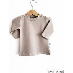 Bluza beige. Brązowe bluzy dziewczęce rozpinane Pakamera, z bawełny, z długim rękawem, długie. Za 84,00 zł.