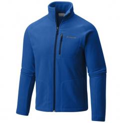 Columbia Bluza Męska Fast Trek Ii Full Zip Fleece Azul Collegiat Xl. Niebieskie bluzy męskie rozpinane Columbia, m, z kapturem. Za 195,00 zł.